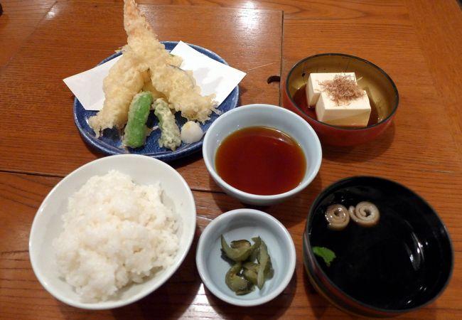 四季自然喰処たちばな 阿倍野本店の昼食