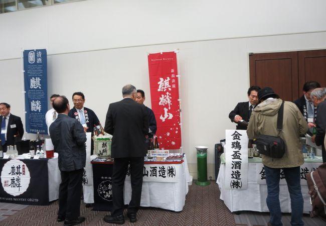 10月初旬に新潟市内である有料日本酒イベント