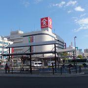 JR福山駅の駅前にあって便利