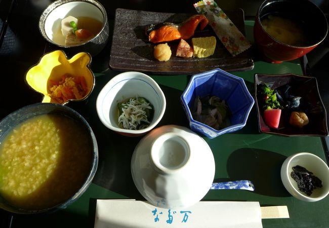 帝国ホテル大阪 大阪なだ万の朝食