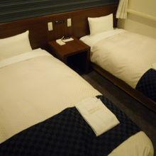 デュベのベッドです。
