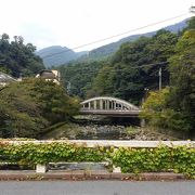 土木学会選奨土木遺産の橋 箱根湯本の端にある旭橋