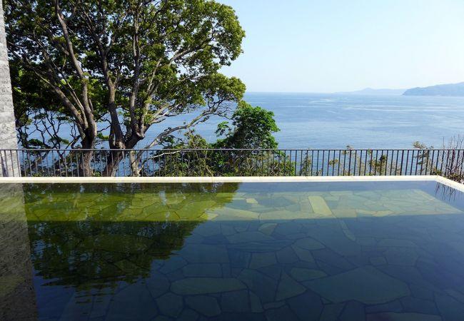 東急ハーヴェストクラブ熱海伊豆山 温泉大浴場 南木の湯(なぎのゆ)に引かれた二つの温泉