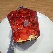 ケーキがおいしい!