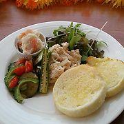 瀬長島のフレンチトーストカフェです