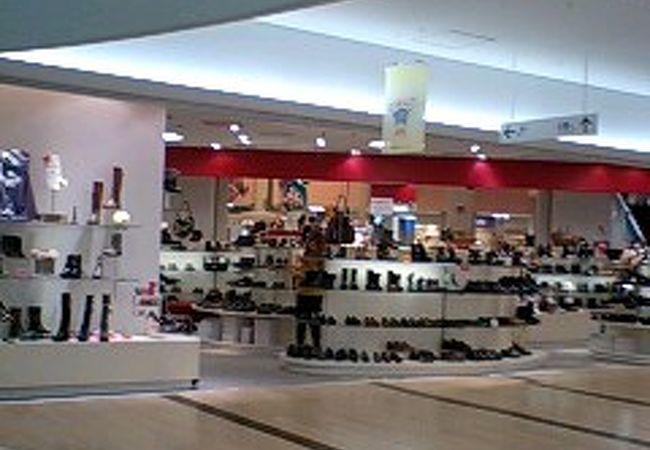 タカシマヤに隣接したショッピングモール!