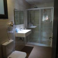 バスタブはないけど、シャワーは固定と稼動があり使いやすいです
