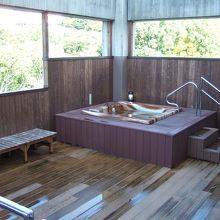 汐の丸の露天風呂