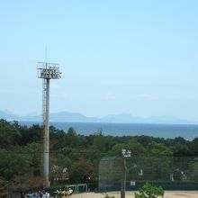 桜井総合公園・瀬戸内海が眺めます。