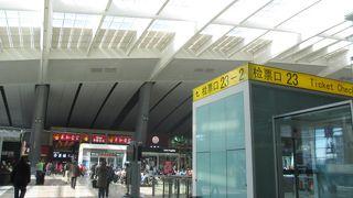 高速鉄道のターミナル