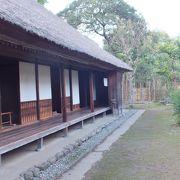 公開されている佐倉の武家屋敷では一番上位の300石扶持の屋敷