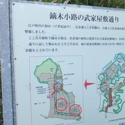 武家屋敷通りにある5軒の屋敷のうち、3軒が公開されています