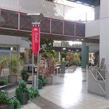 緑の多い施設