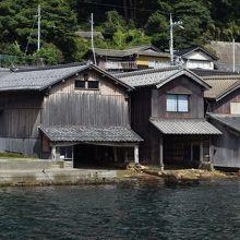 江戸期建築の最古の舟屋