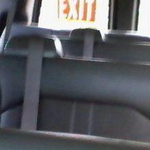 ワゴン車内。アメリカンな?感じです。