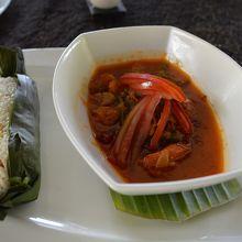 セットランチ インドネシア料理メイン