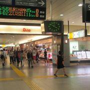 神奈川県唯一の駅ナカ商店街
