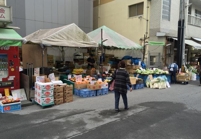 野菜も魚も安い!