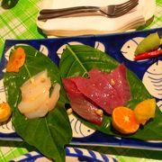 まさに現地の料理!でも日本人が作ってる?とても美味しくて安い!