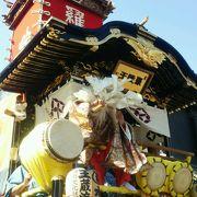 川越祭りと蔵造りの町並み