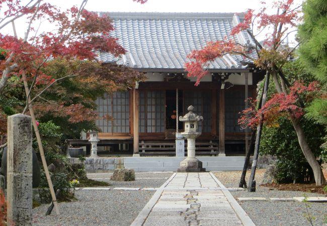 数珠玉授与所のお寺。