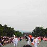 日本三大祭りの一つです。