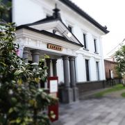 ここの中のカフェがおススメです(^_-)-☆
