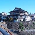 錦帯橋の真ん前の割烹旅館