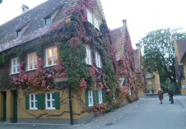 今も人が暮らしている世界最古の福祉住宅