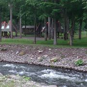 SLの走るキャンプ場