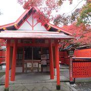 車折神社の境内にある芸能神社。