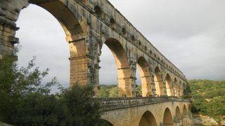 ローマ時代の素晴らしい土木技術に感服