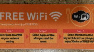 Ground FloorのフードコートでFree Wifiが利用可能になりました。