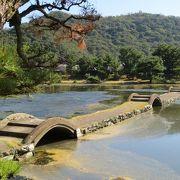 徳川家所縁の庭園