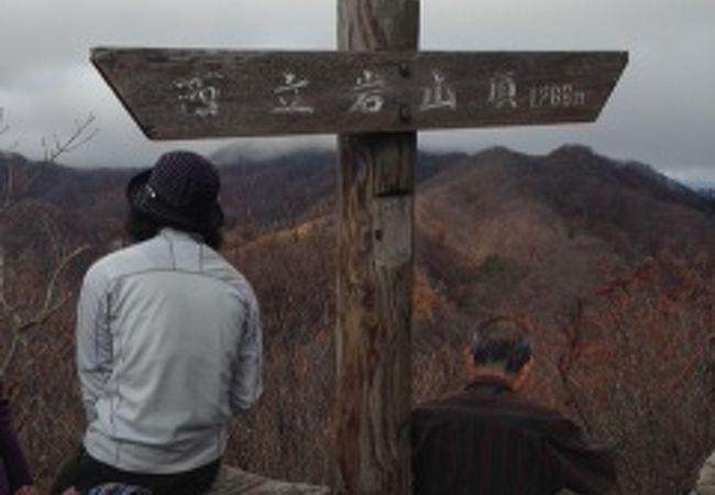 立岩(群馬県南牧村)
