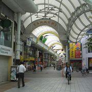 高松中央商店街の最南端部分です