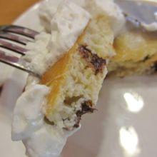チョコチップパンケーキ断面