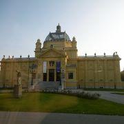 ザグレブで最古の展示場