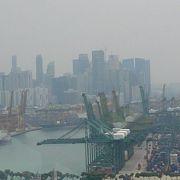 シンガポールの街が一望できます