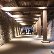 お城の地下通路