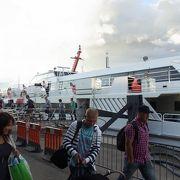 Linda Lineの高速船