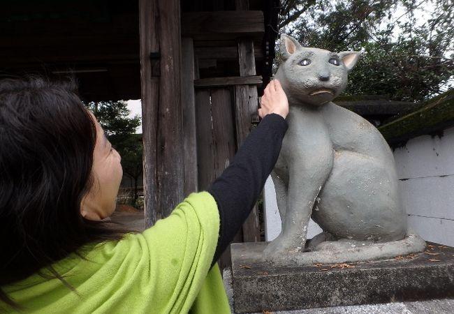 愛猫家の方なら、ぜひお参りを
