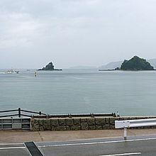 施設から望む日本海です。