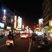 地元民向けの夜市