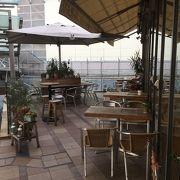 ヘルシー志向のカフェ