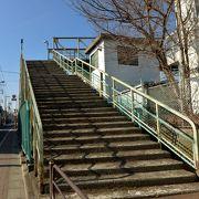 太宰治お気に入り、歴史ある跨線橋です