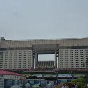 杭州駅が起点です。
