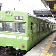 JR奈良線の車両