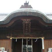 明石市立天文科学館のすぐ裏の神社