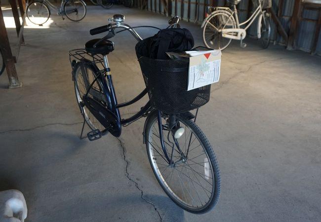 世良田駅前無料レンタサイクル